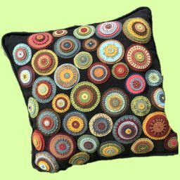 Quilted Pillow by Dalen Anderson