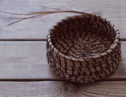 Pine Needle Basket by Carolyn Zeitler