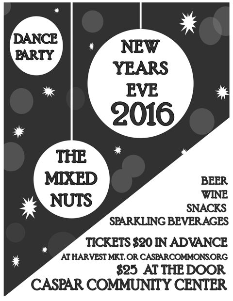 New Years Eve Dance Party 2016 poster